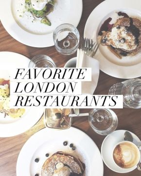 Food | Favourite Food Spots in London